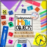 Teacherpreneur Mockup Subject Elements | Math Manipulatives