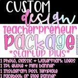 Custom Logo Design |Teacher/Educator Logos | Teacherpreneu