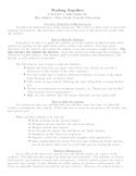Teacher's Aide Guide