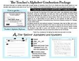 Teacher's Alphabet Graduation Packet