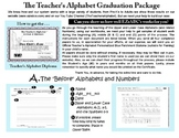 Teacher's Alphabet Graduation Packet