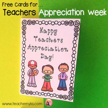 teachers appreciation day by nyla s crafty teaching tpt