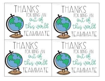 Teachers Appreciation Notes for Teachers from Teachers