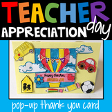 Teachers Appreciation Week Card - End of Year - Thank You Card