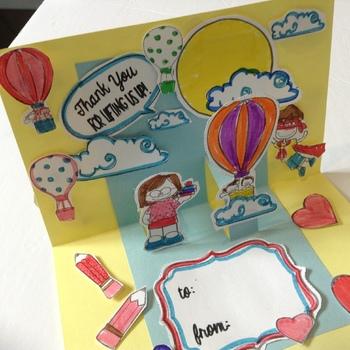 Teachers Appreciation Week Card - End of Year - Thank You Card