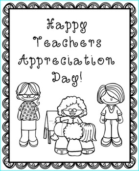Teachers Appreciation Week Cards