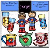 Teacher Fun Pack Clip Art Bundle {Educlips Clipart}