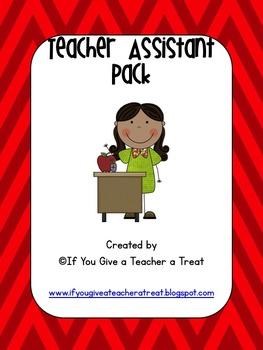 Teacher's Assistant Pack