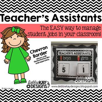 Teachers Assistants Job Chart - Chevron