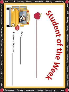 Teacher's Back to School Stationery Set