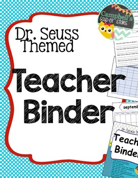 Teachers Binder