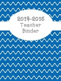 Teacher's Binder - Colorful Printable Sections