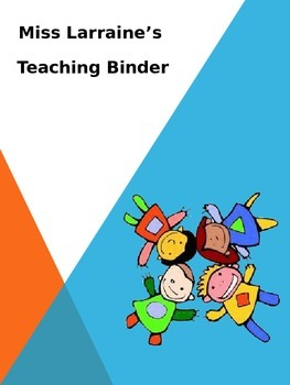 Teacher's Binder Cover
