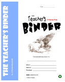TEACHER's BINDER - Often-used, printable classroom forms, worksheets & tools