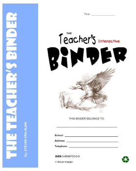 TEACHER's BINDER - Editable, often-used, printable classroom forms, worksheets