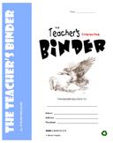 TEACHER's BINDER - Editable, often-used, printable classro