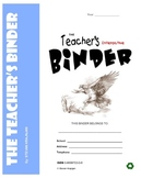 TEACHER'S BINDER: interactive, printable, useful classroom forms, worksheets