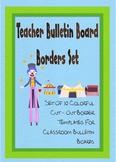 Teachers Bulletin Board Borders Set