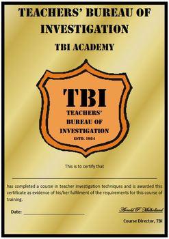 Teachers' Bureau of Investigation