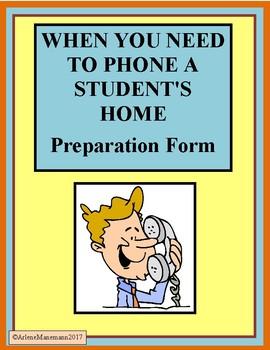 Teachers Calling Home