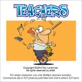 Teachers Cartoon Clipart