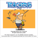 Teachers Cartoon Clipart