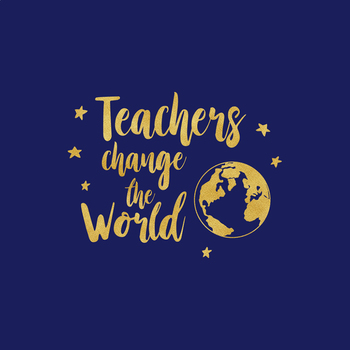 Teachers Change The World SVG, Teach File, Teacher Life Clipart