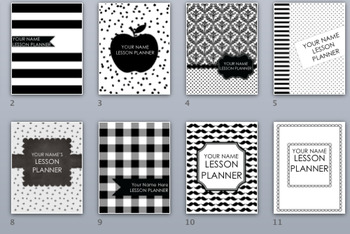 Teacher Binder Covers and Spines ONLY BUNDLE Editable
