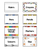 Teacher's Classroom Organizing Labels