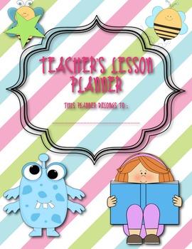 Teacher's Classroom Planner