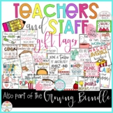 Teachers, Co-workers, & Staff GIFT TAGS