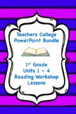 Teachers College Reading Bundle Animated PowerPoint Units 1-4