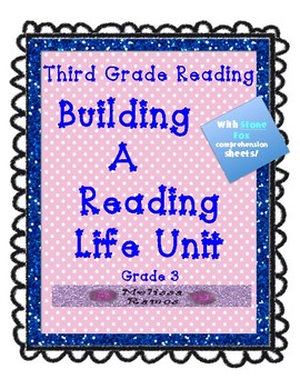 Teacher's College Building a Reading Life Unit Grade 3 Lessons + Supplements