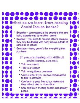 Teacher's College Social Issues Book Club Unit Supplements for 3rd Grade