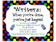 Teacher's College Launching the Writer's Workshop Unit Sup