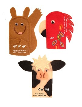 Teacher's Creatures Chunk Puppets (Teacher Set with Stories and Motions)