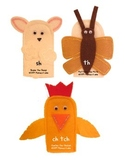Teacher's Creatures Chunk Puppets (Teacher Set with Storie