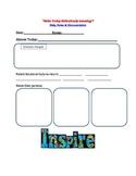 Teacher's Daily Documentation Sheet