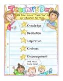 Teachers' Day Poster