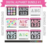 Clip Art Alphabet Bundle Pack #1