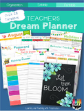 Teachers Dream Planner