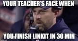 Teachers Face When.... Meme