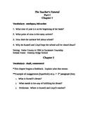 Teacher's Funeral Novel Unit