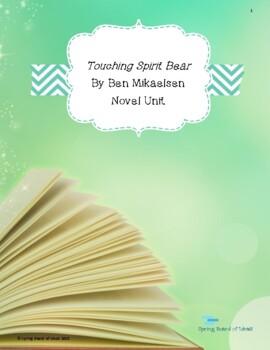 Teacher's Guide for Novel Touching Spirit Bear