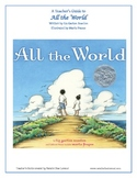 Teacher's Guide for picture book All the World by Liz Gart