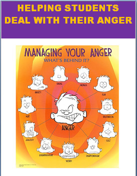 Teachers Guide in Helping Students Deal with Anger- 4 activities for students