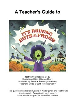 Teacher's Guide to It's Raining Bats & Frogs