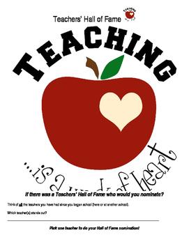 Teachers' Hall of Fame