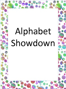 Teacher's Land - Alphabet Showdown