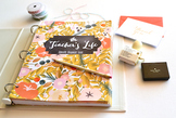 Teacher's Life Binder - Garden